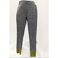 Ladies Legging w/Side Stripe and Contrast Cuff