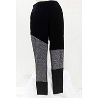 Ladies Jogger w/Color Block (Space Dye)