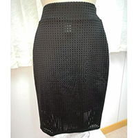 Ladies Laser Bomber Skirt