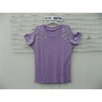 Ladies' knitted t-shirts