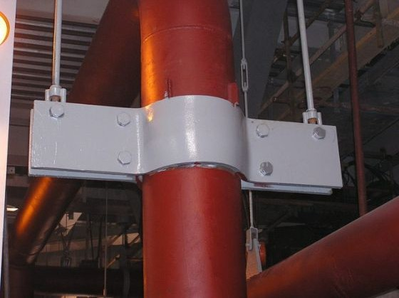 Variable spring hanger constant pipe