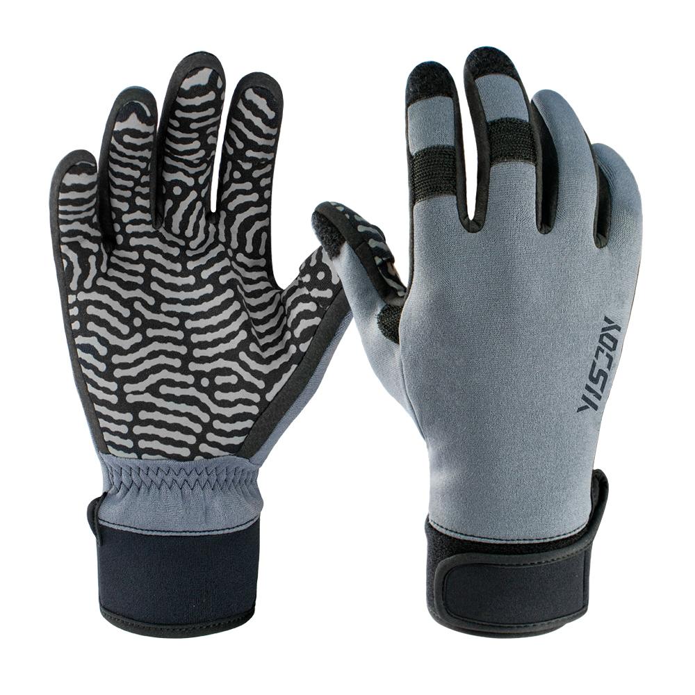 Mens Neoprene Fishing Gloves Lightweight Waterproof