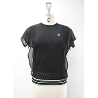 Ladies' Cotton/ Acetate Knitted Pullover
