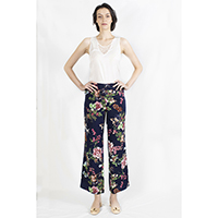T-1906020-1 Top: Lace Top, T-1906020-2 Bottom: Floral Printed Pants