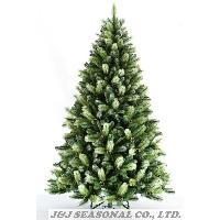 7.5' PVC & BRISTLE Mixed Tree W/86 pinecone