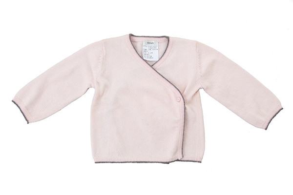 Babies' Cotton Cashmere Knitted Cardigan