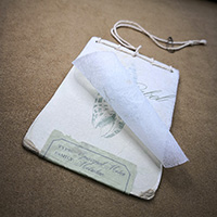 Eco Hangtag (Raw, Sewed, Tissue Paper, Recycled Paper)