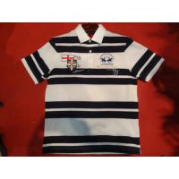 Yarn Stripe Polo Shirt