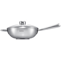 Curie IHC Wok with Long Handle 28cm