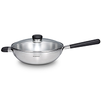 Hotspot IHC Wok with Long Handle 32cm
