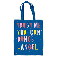 Canvas Flat Tote (Angel)