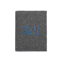 Felt Dark Grey Notebook Holder (Bill)
