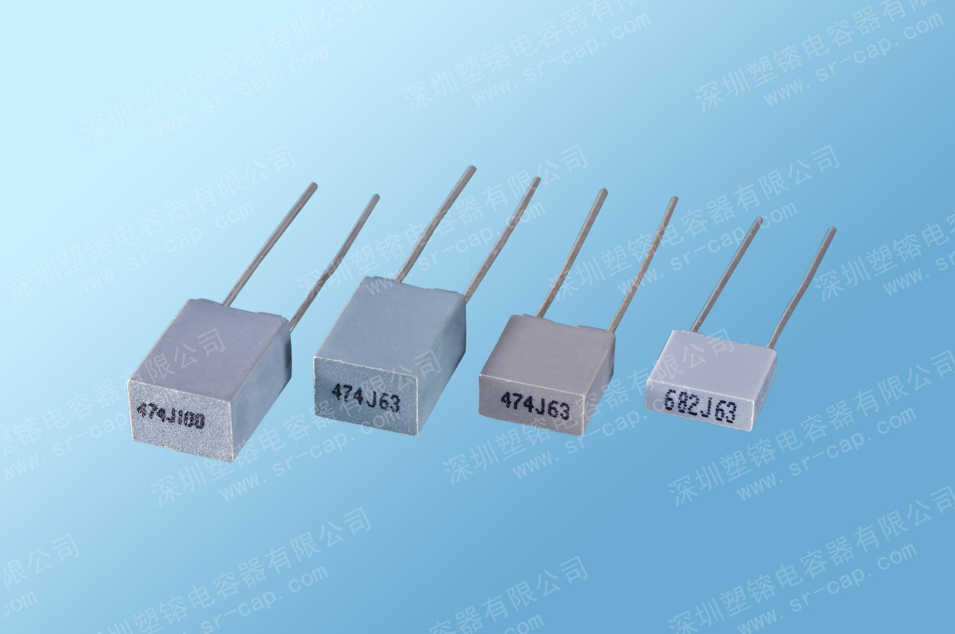 Metallized Polyester Film Capacitors Mini Box Cl233x