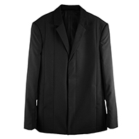 Cashmere Blend Wool Tailor Jacket
