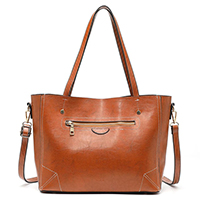 Ladies PU Tote Bag