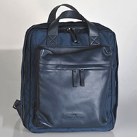 Nylon / Leather Back Pack