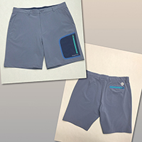 Polyester 4 Way Stretch Performance Shorts