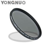 77mm Slim ND Filter Neutral Density Variable ND2 ND4 ND8 to ND400