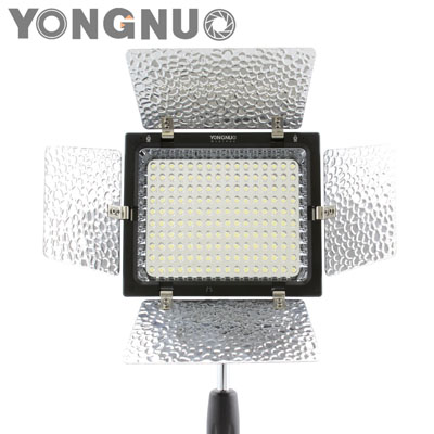 YN-160 II LED Video Light w/ Condenser MIC + Luminance Remote Control