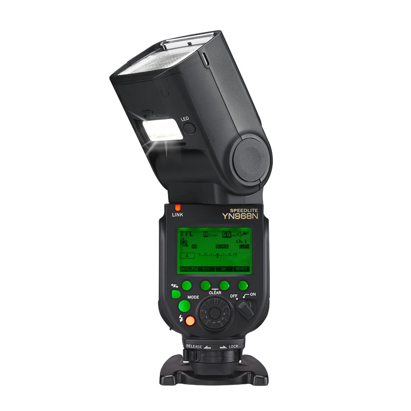 Yongnuo YN968N TTL flash with HSS and master function