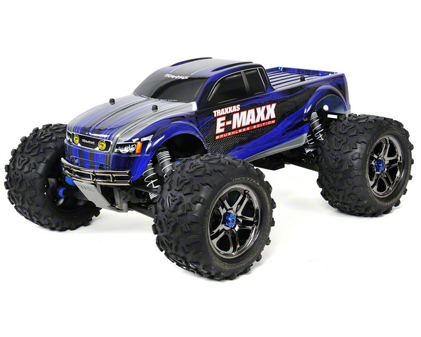 Traxxas E-maxx Brushless Rtr Monster Truck W/tqi 2.4ghz, Castle Mamba, Lipos & Chargers