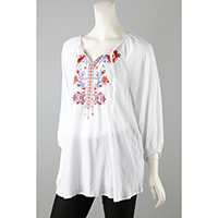 Machine Embroidery Top