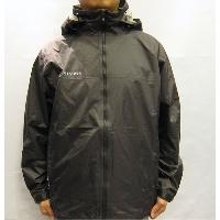 Grey Men's Rain Jacket Waterproof All-season Rain Outdoor Wear S~2XL