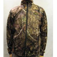 Mossy Oak Break Up Country Men's Camouflage Full Zip Breathable Loose Knitted Jacket S~2XL