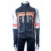 Dark Grey Men's Stand Collar Fashion Cycling Sport Soft-shell Comfortable Knitted Jacket