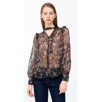 100% Polyester Printed Blouse