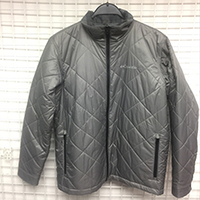 Mens Woven Quilted Reversible Padded Jacket