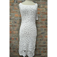 Ladies Crochet Dress