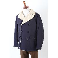Mens Padded Pea Coat, CK012