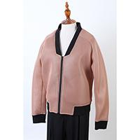 Ladies Mesh Neoprene Bomber Jacket, CK001