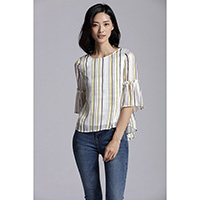 Haley Vertical Stripe Top