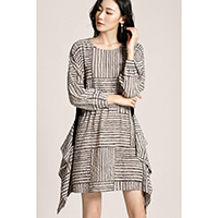Jillian Overhang Dress
