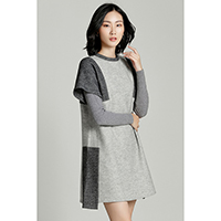 Mina Patchwork Dress