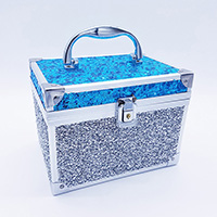 Sequin/Glitter Lock Box