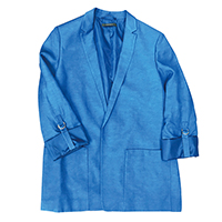 Ladies' Viscose Linen Blazer, 025