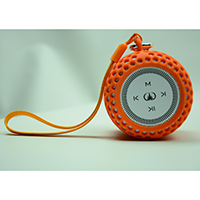 Mini Portable Brilliant Sound Speaker - Orange, K-018O