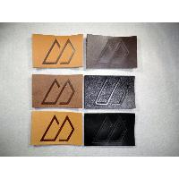 MY Logo Leather Patches