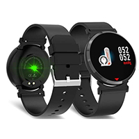 Optical Heart Rate & Blood Pressure Monitor Smart Watch, SE28