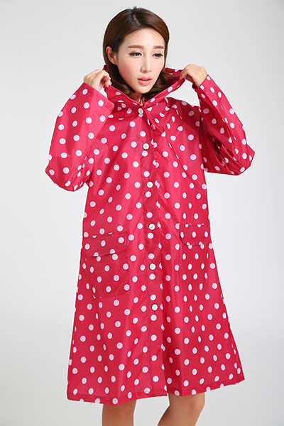 Adult Nylon Raincoat