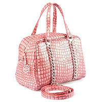 Chain Croco Crossover Bag