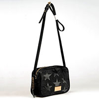 Printed Nylon Crossover Bag