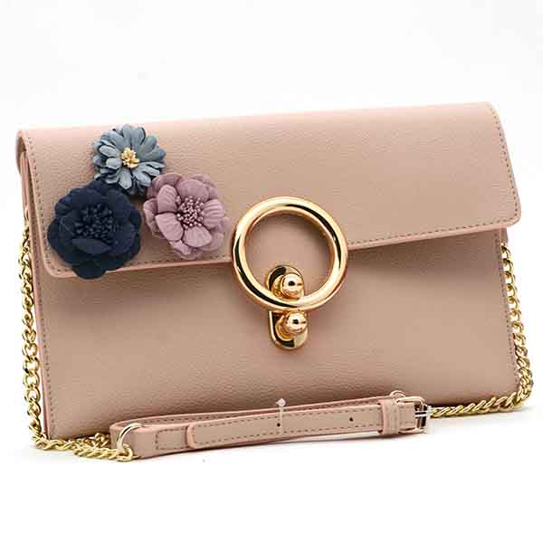 3D Flower Clutch Bag