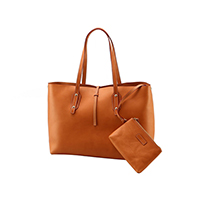 Veg Tan Leather Tote