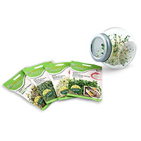 Organic Sprout Seeds Packets