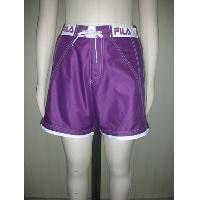 Summer Man's Purple Simple Beach Shorts