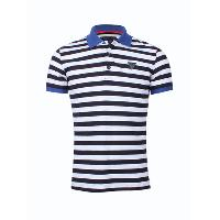 New Man's Stripes Polo T-shirts Casual Wear